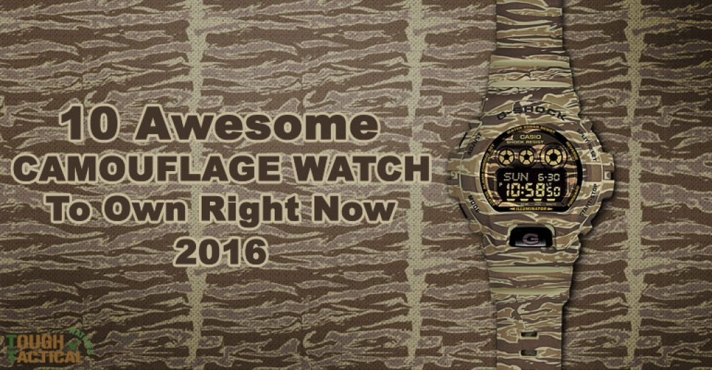 10 Awesome Camouflage Watch To Own Right Now • Tough Tactical Watches