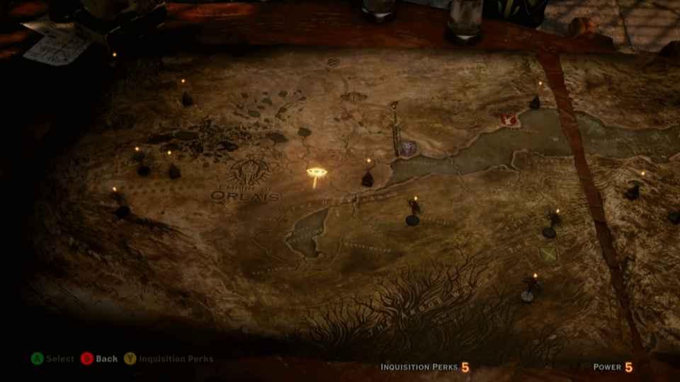 Dragon Age Inquisition: Gamescom demo shows world map